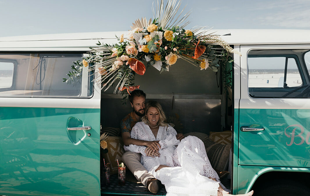A Zero Waste Beach Wedding